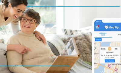 medflyt the best home health care app