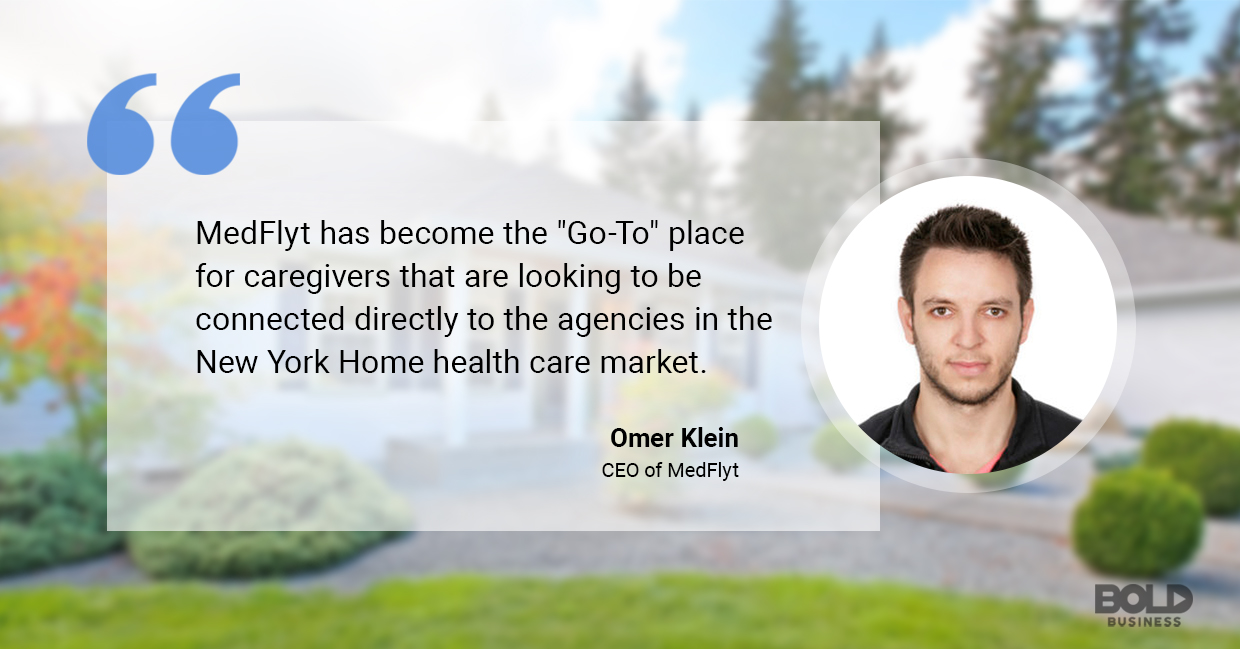 Omer Klein CEO Medflyt on home healthcare app