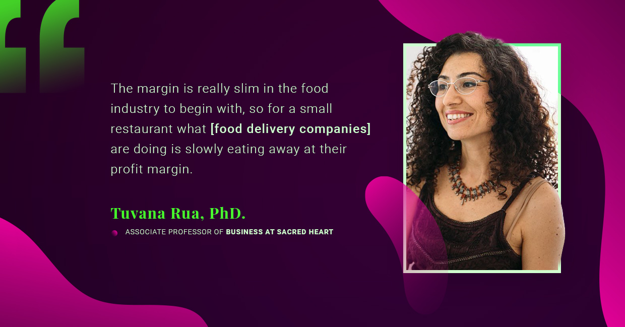 Tuvana Rua, PhD. talking food service industry