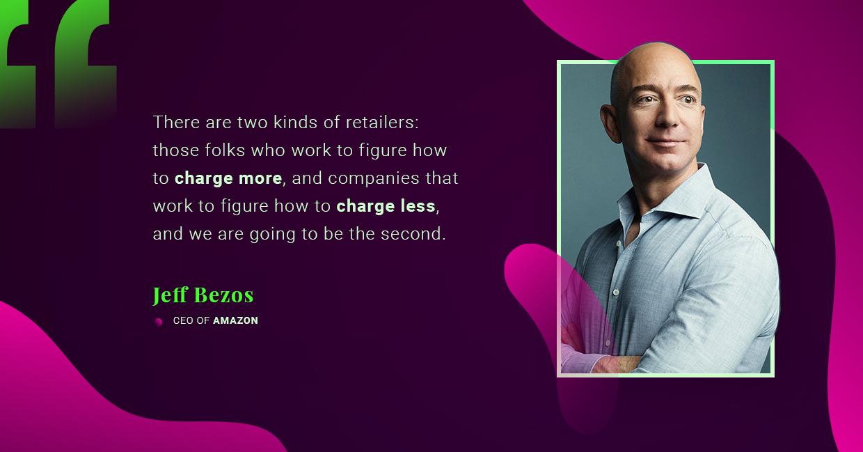 Jeff Bezos talking Amazon