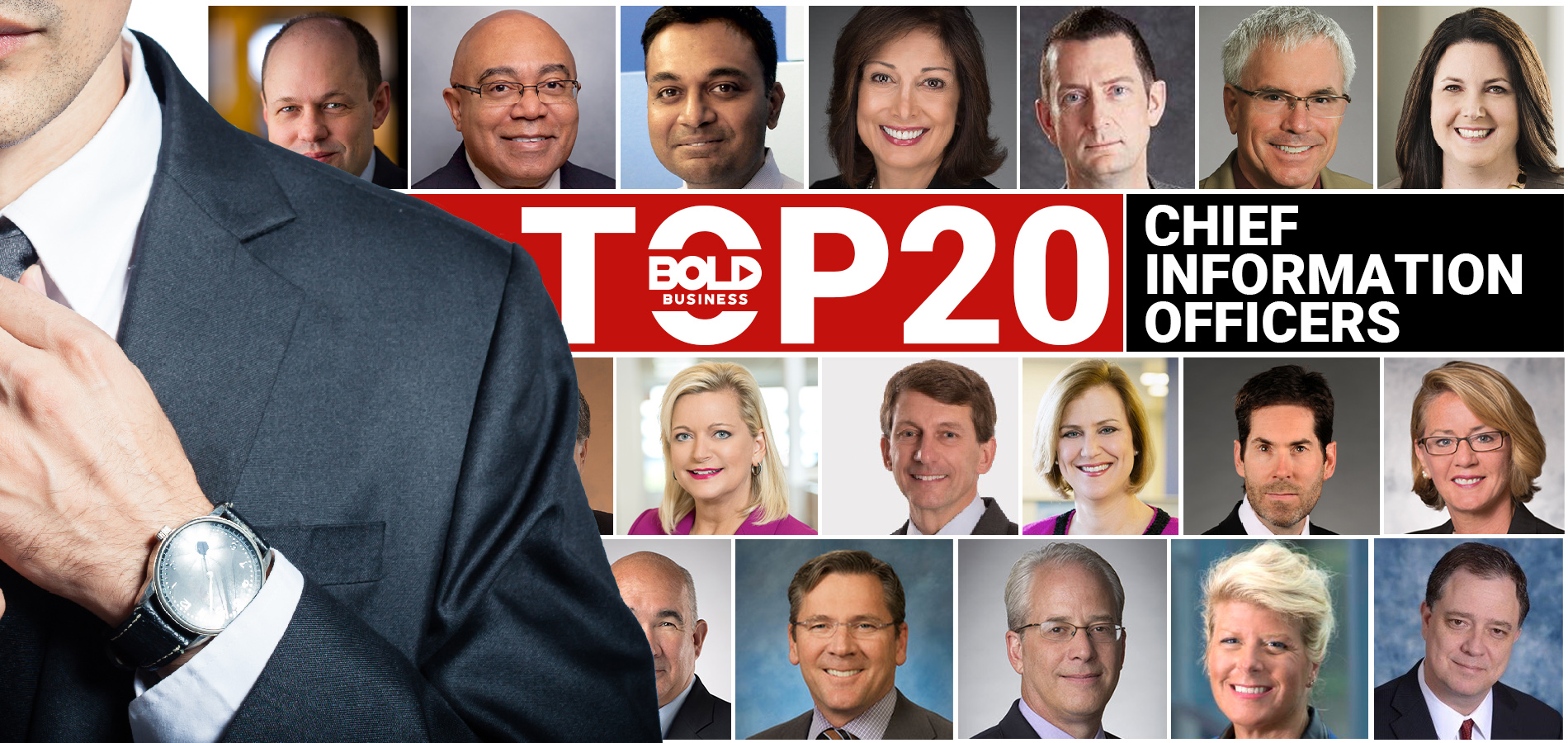 Bold Business' Top 20 CIO's