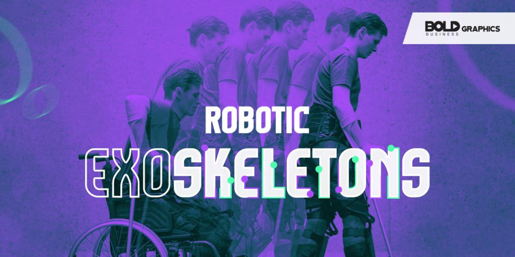 infographic thumbnail image of Robotic Exoskeletons in relation to Robotics in Rehabilitation