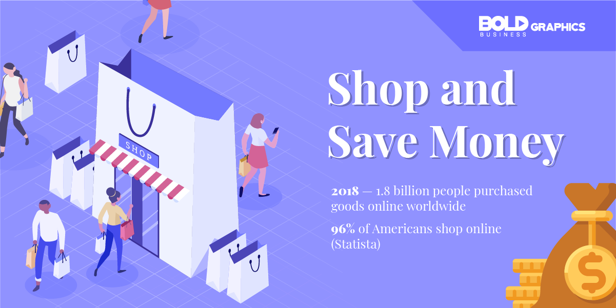 infographic thumbnail image of Shop and Save Money