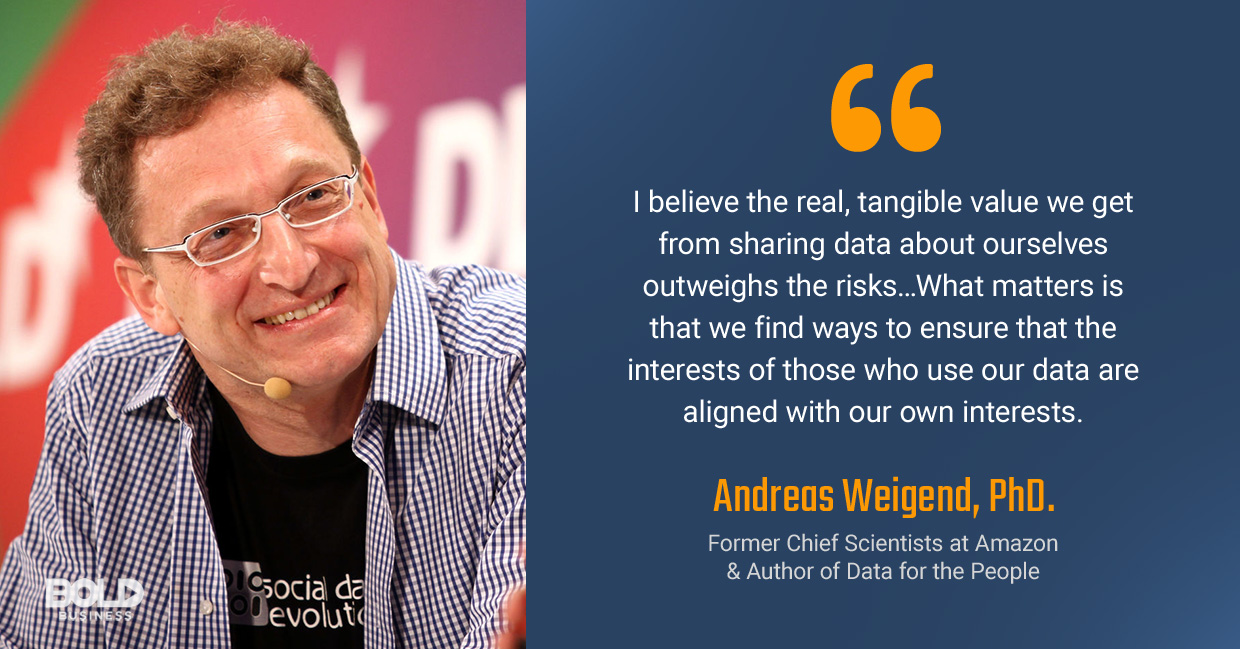 andreas weigend quoted