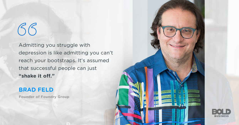 Brad Feld talks founder depression.