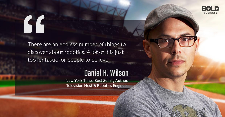 collaborative robotics, daniel wilson quoted