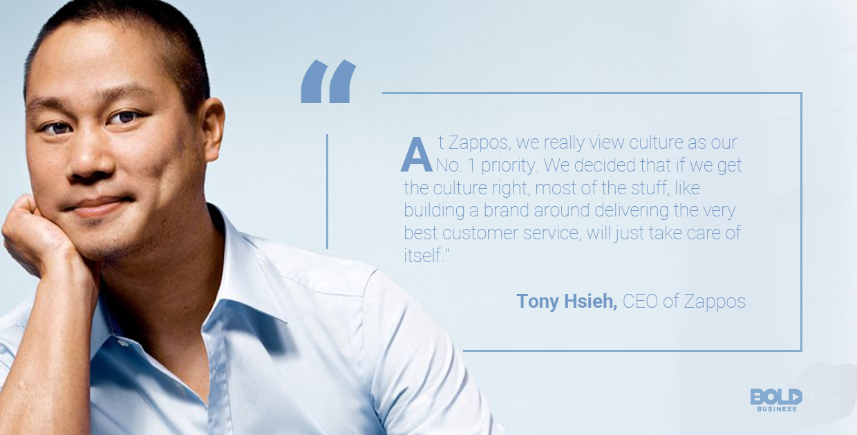 tony hsieh quoted about having the right culture