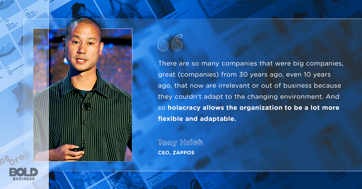 tony hsieh on adapting to changing environments