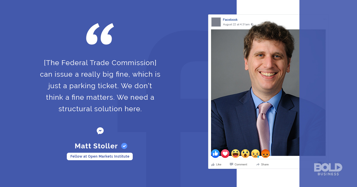 facebook antitrust, matt stoller quoted
