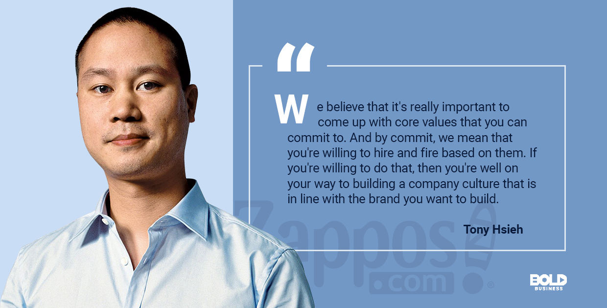 tony hsieh talks about company culture