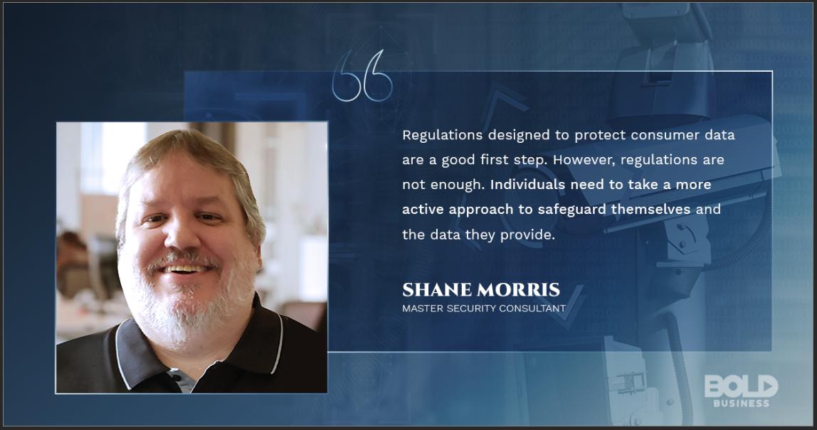 Shane Morris talking surveillance capitalism