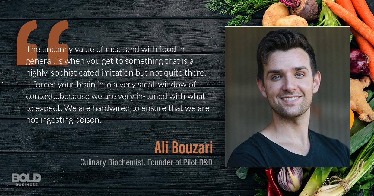 impossible foods, ali bouzari quoted