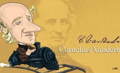 cornelius vanderbilt caricature