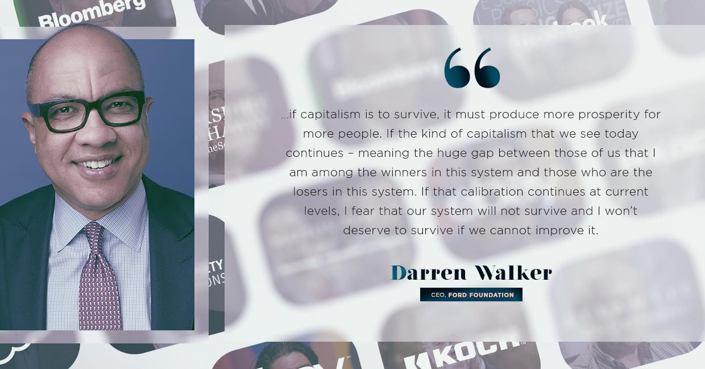 gospel of wealth, darren walker quoted