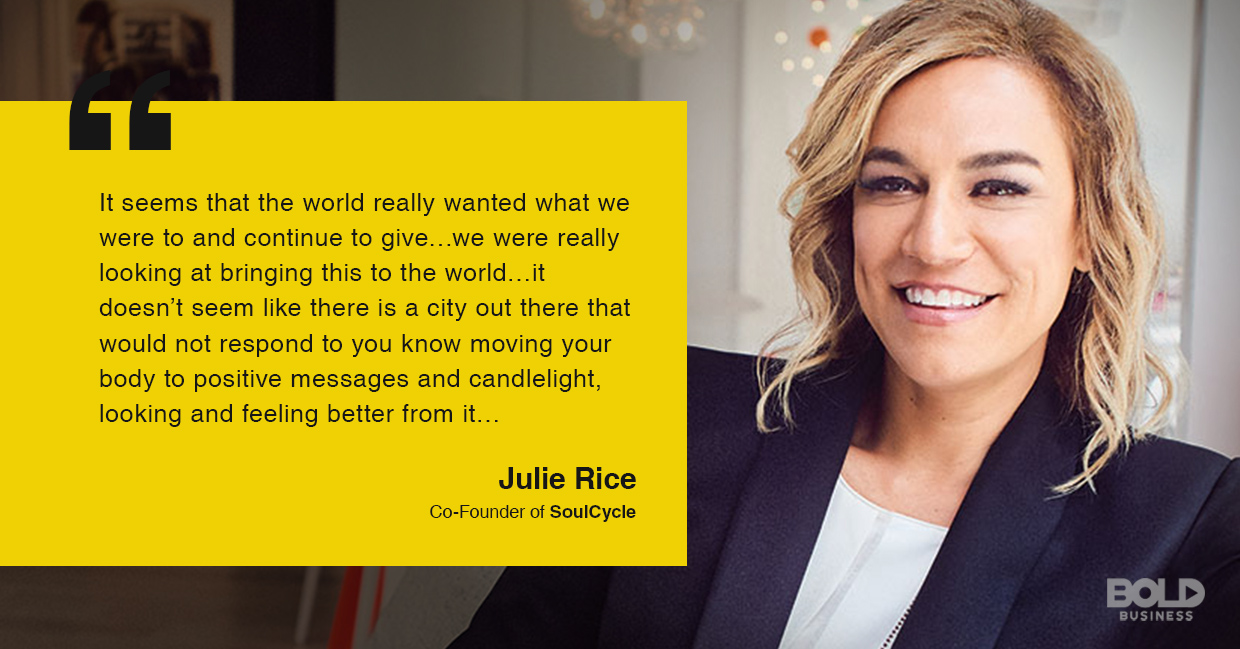 SoulCycle co-found talks about the fitness endeavor