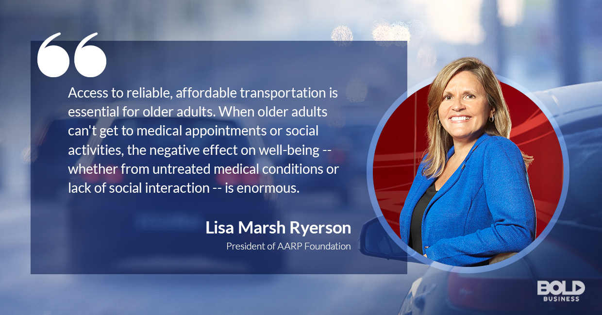 senior medical transportation, lisa marsh ryerson quoted