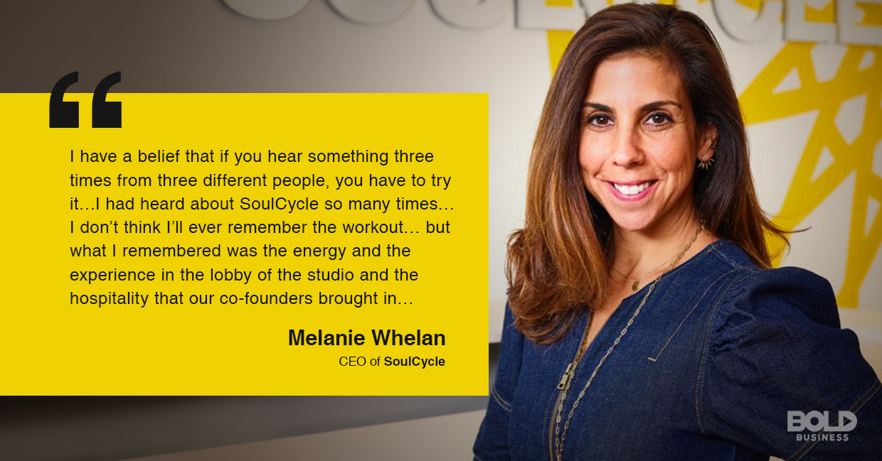 SoulCycle CEO talking business