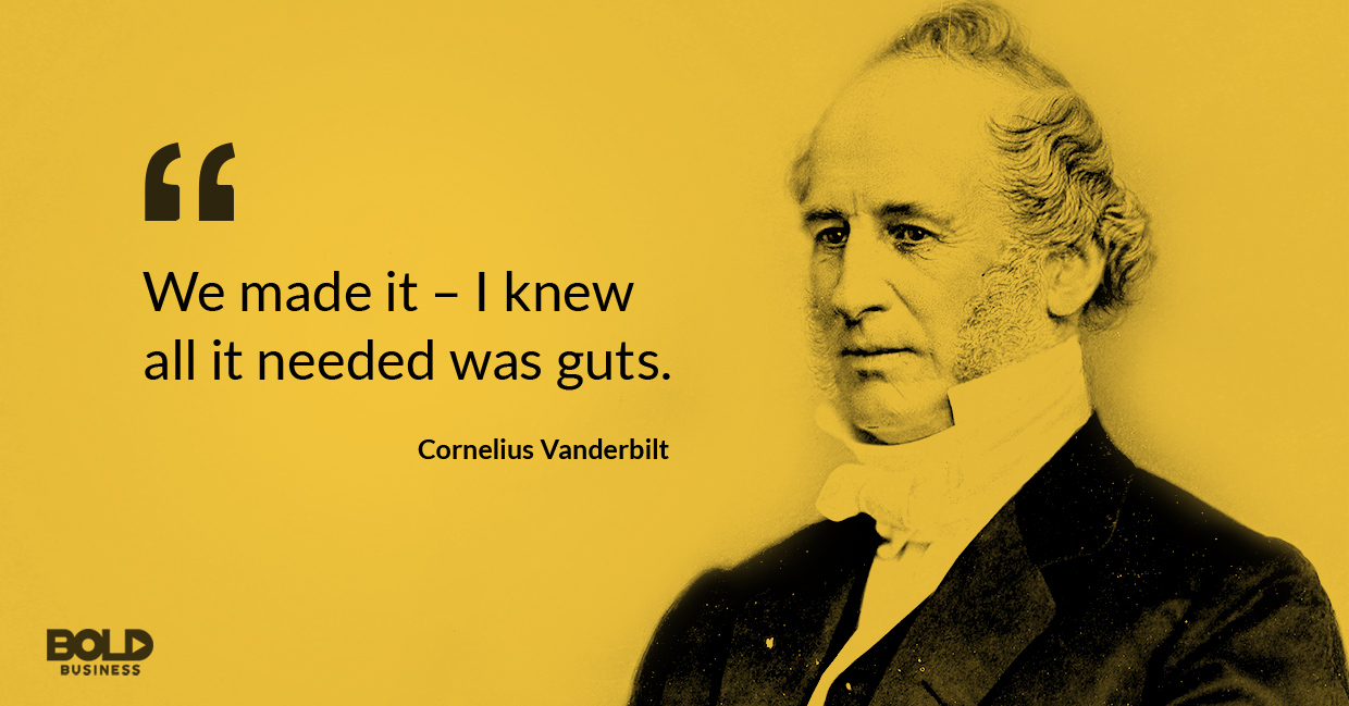 cornelius vanderbilt quoted