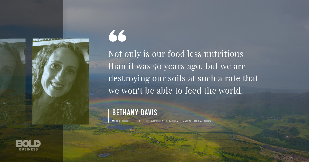 soil health, bethany davis quoted
