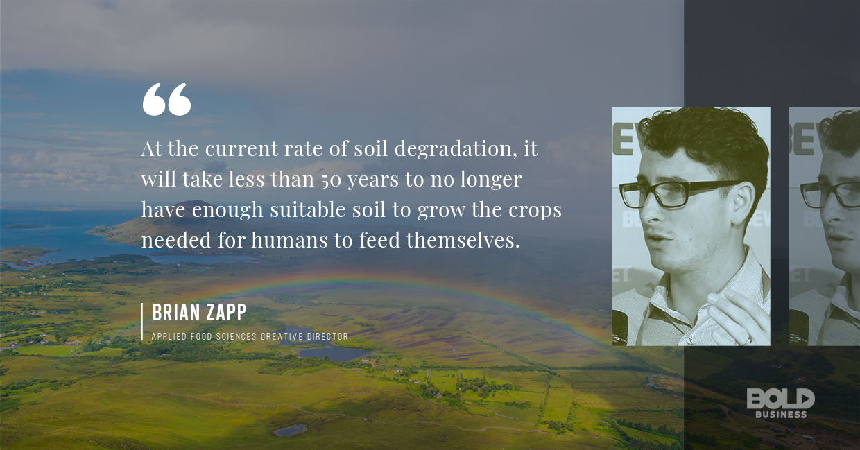 regenerative agriculture, brian zapp quoted