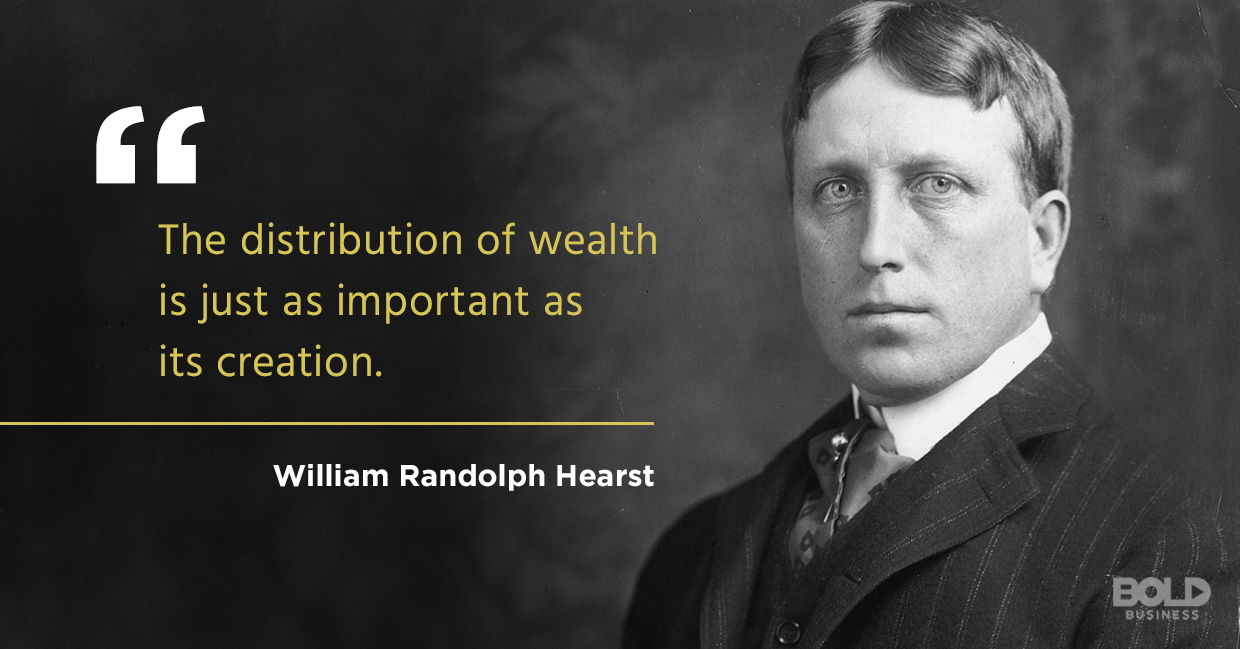 william randolph hearst qouted