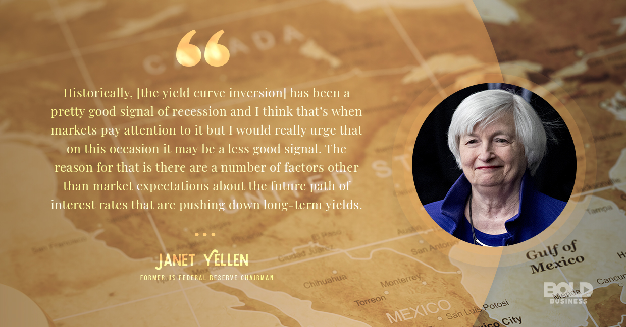 economic recession, janet yellen quoted