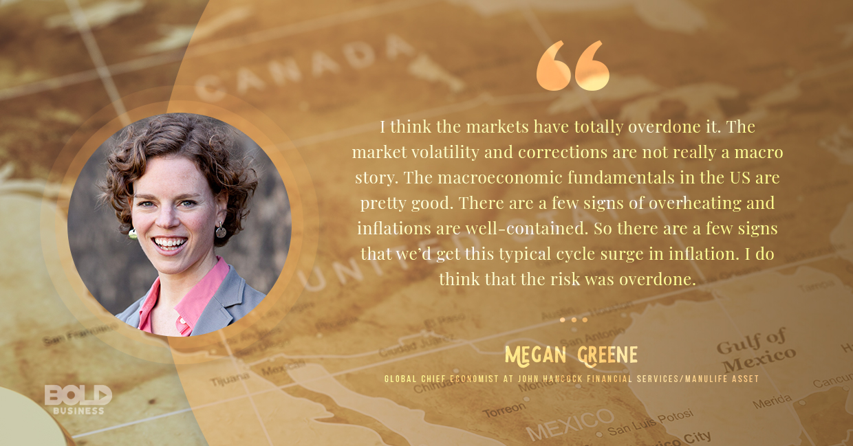 reasons for economic recession, megan greene quoted