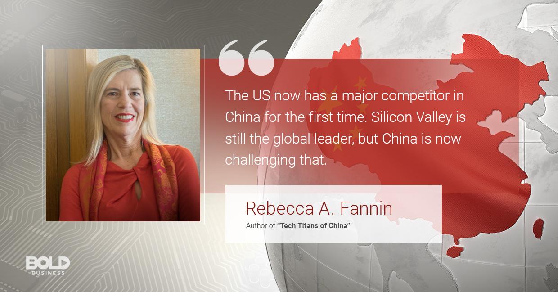 Rebecca A. Fannin talks China