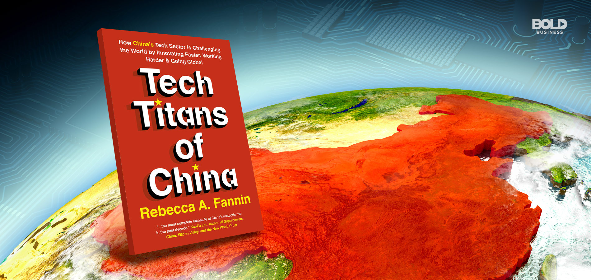 A picture of the Tech Titans of China book