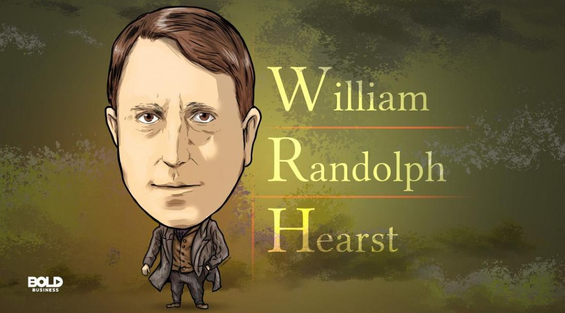 William Randolph Hearst, Businessman and Newspaper Publisher