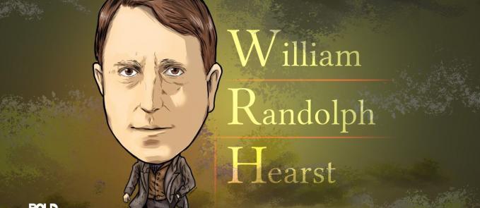 William Randolph Hearst, Businessman and Newspaper Publisher