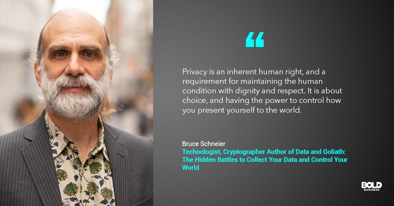 security surveillance network, bruce schneier quoted