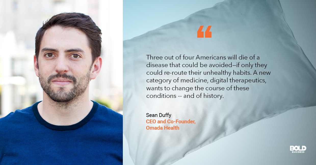 digital therapeutics, sean duffy quoted