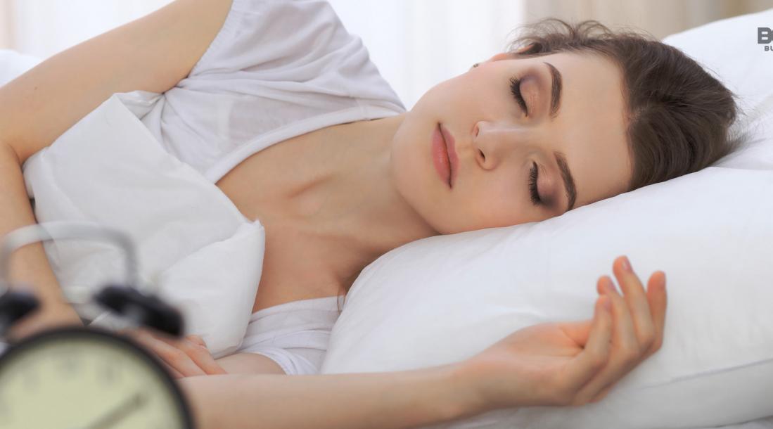 sleepio, woman sleeping