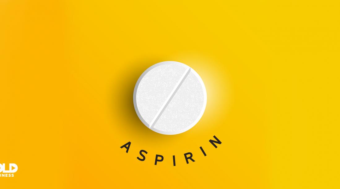 New depression treatment aspirin tablet.