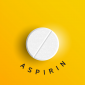 New depression treatment aspirin tablet.