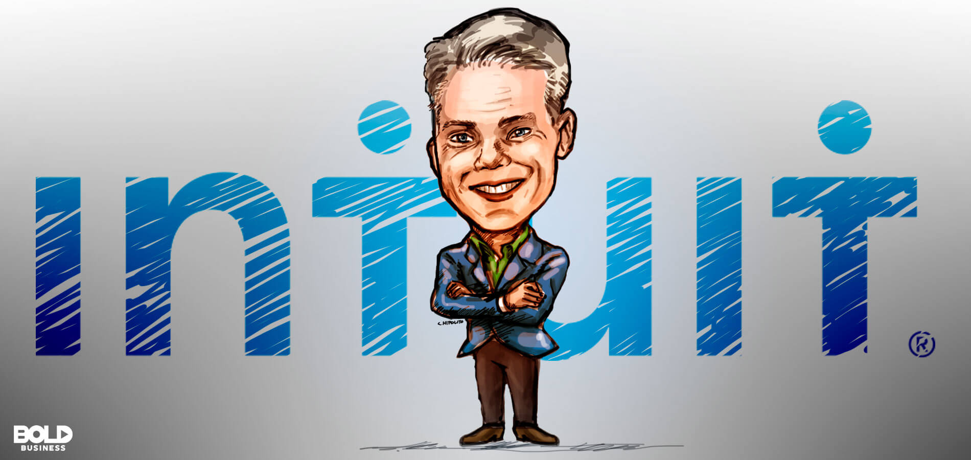 brad smith of intuit cartoon