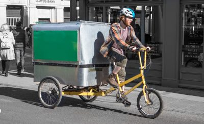 Using Cargo Bikes for Urban Deliveries is a Great Idea!