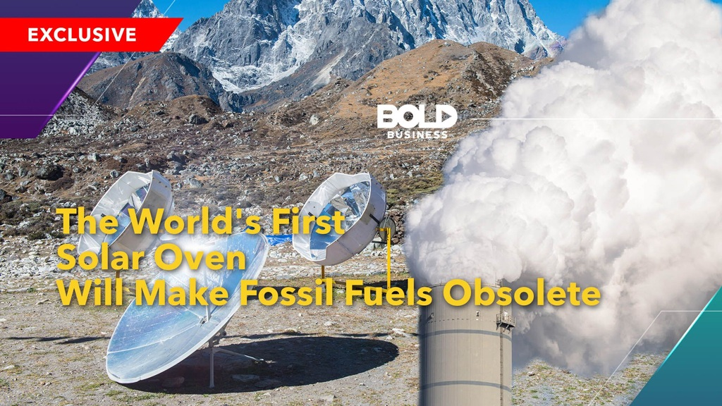 The World's First Solar Oven Will Make Fossil Fuels Obsolete