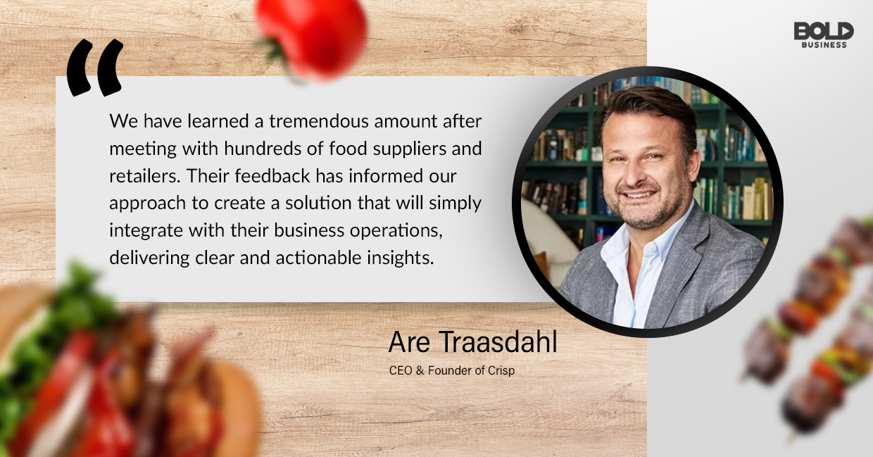 food waste solutions, are traasdahl quoted