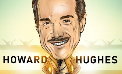 Howard Hughes cartoon
