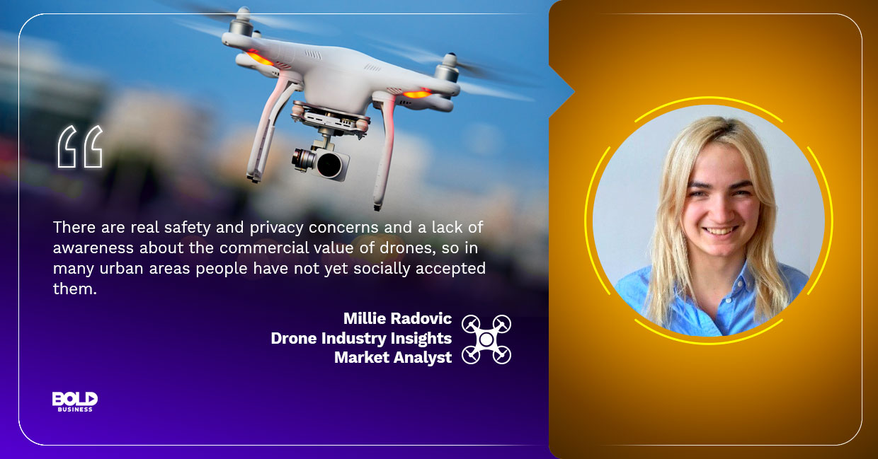 virtual reality drones millie radovic quoted