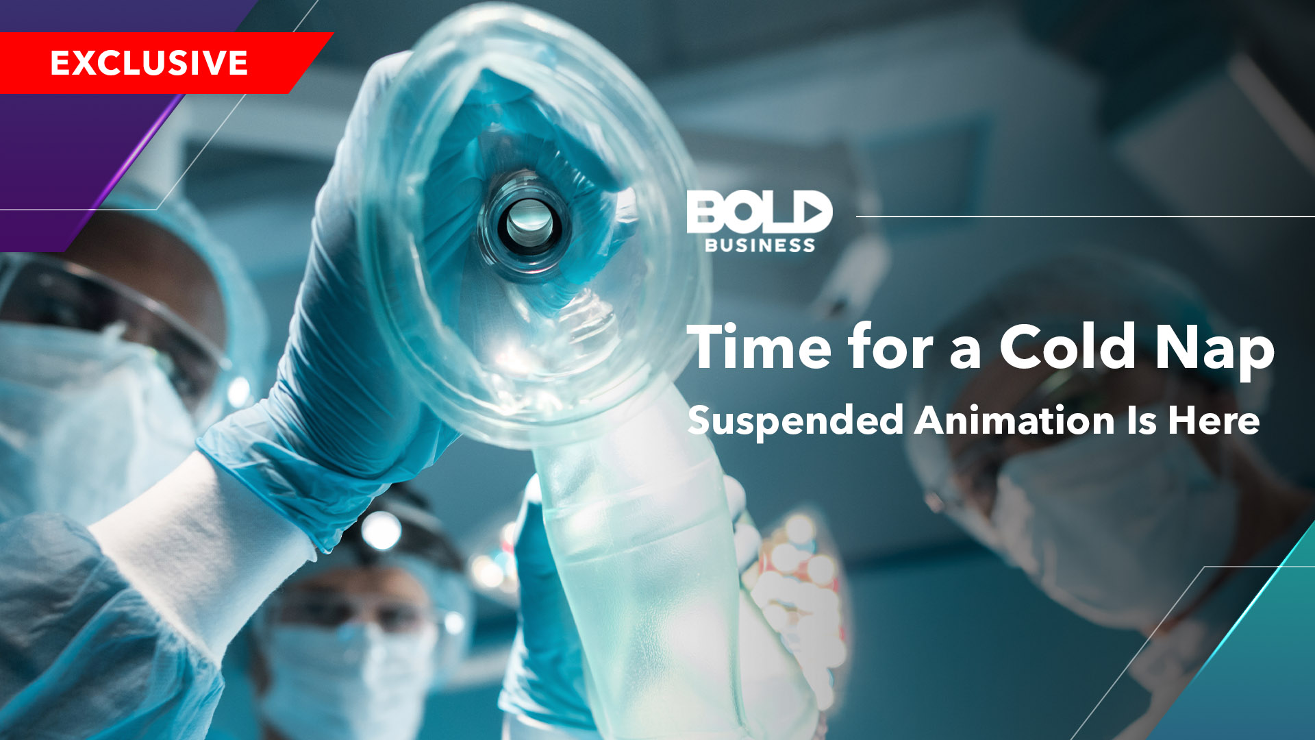 Time For A Cold Nap: Suspended Animation Is Here - Video