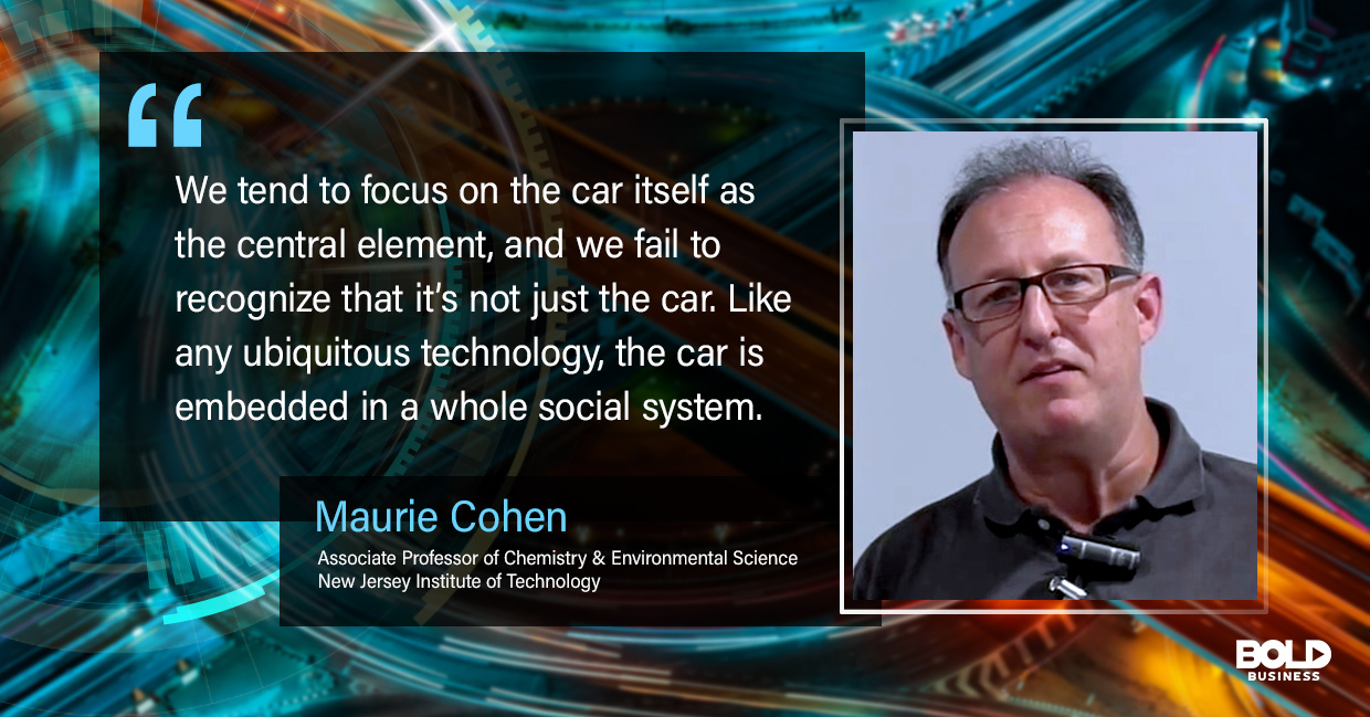 future of car ownership maurie cohen quoted
