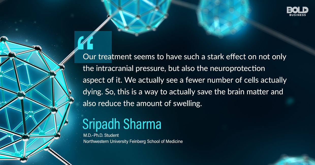 photo quote of Sripadh Sharma in relation to the latest biomedical therapy news that is nanoparticles