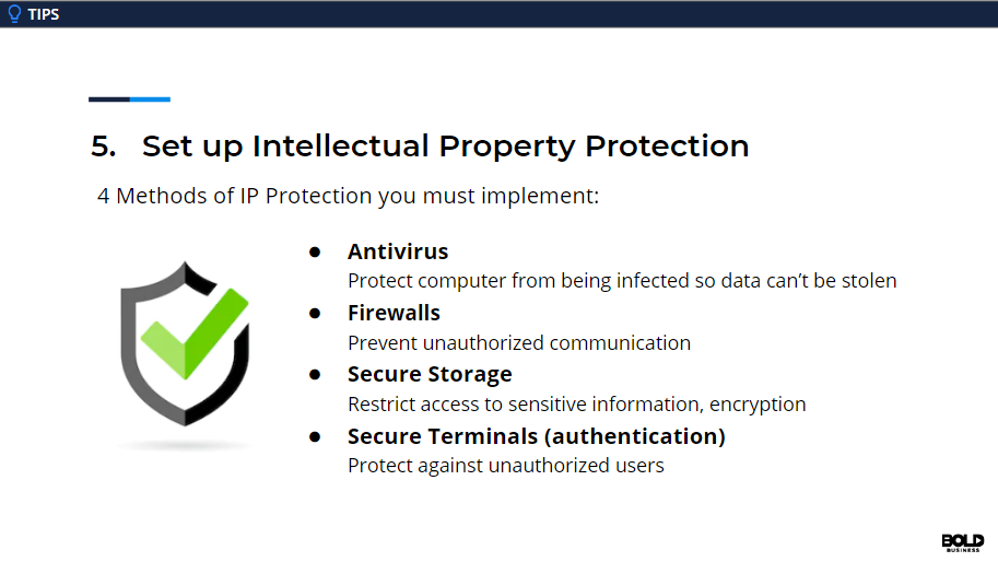 Cybersecurity means protecting intellectual property