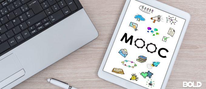 A MOOC on a tablet