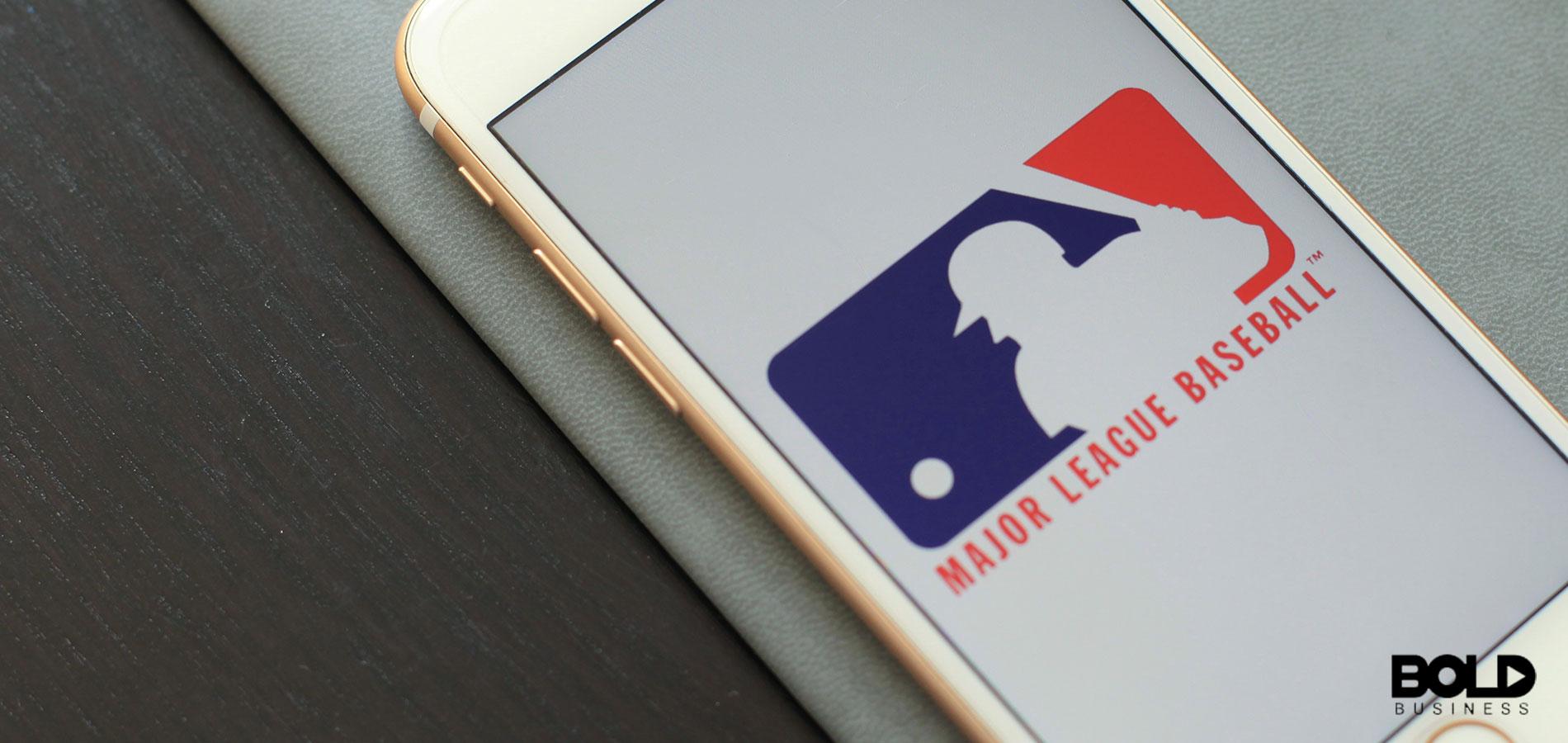 A Major League Baseball app