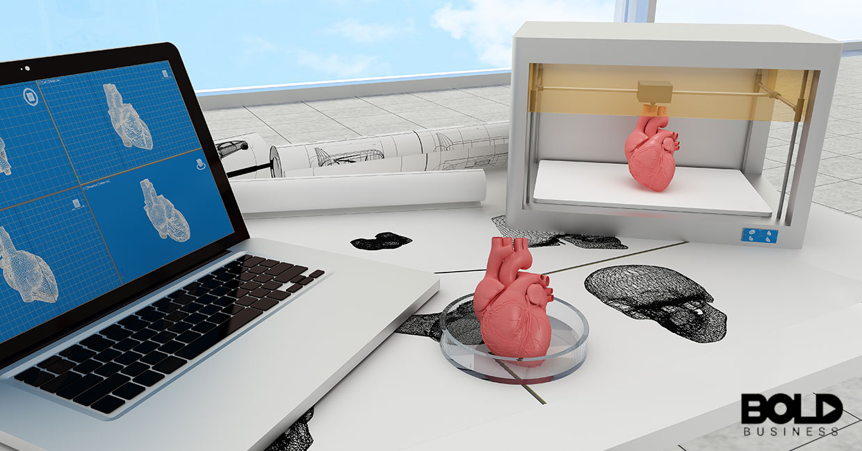 Someone has 3D printed a human heart