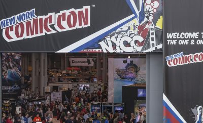 A pic of NYC's Comic Con at the Javitz Center